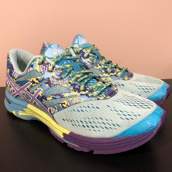 wholesale dealer 19416 a3a70 Asics Gel Noosa Tri 10 Women size 8 Neon Blue